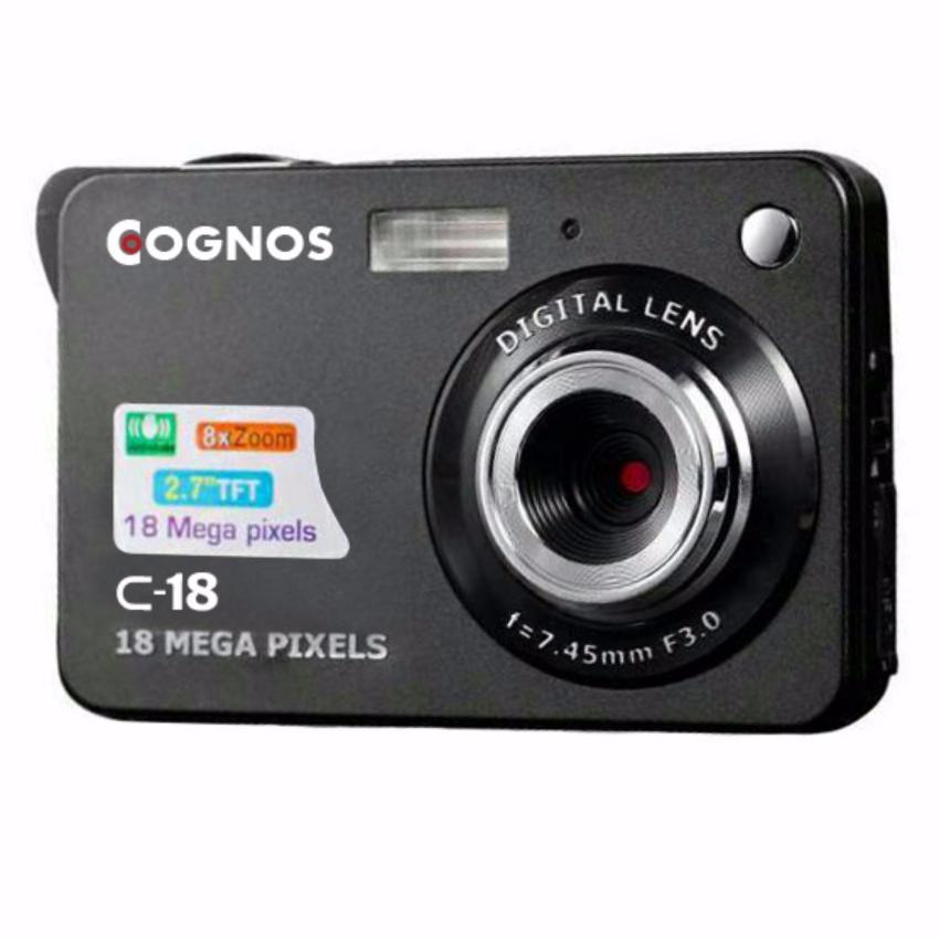 "Cognos C-18 Pocket Camera 18MP TFT LCD Display 24"" Zoom 8x"