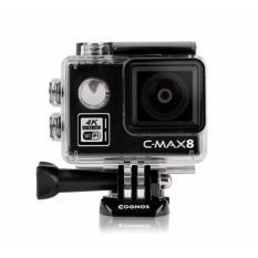 Cognos Omega 4K C-MAX 8 Action Camera 16 MP - MIKA BOX - Hitam