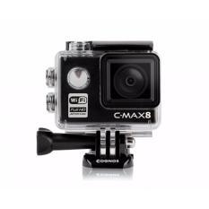 Cognos Orion Action Camera Full HD 1080P WIFI 12 MP - Hitam