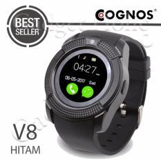 Cognos Smartwatch - GSM V8 - Hitam