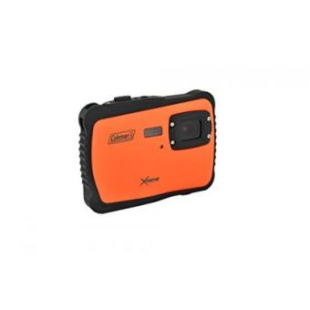 Coleman C6WP-O Xtreme 12.0 MP/HD Underwater Digital & Video Camera (Orange)