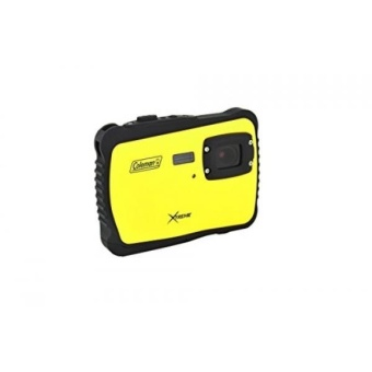 Coleman C6WP-Y Xtreme 12.0 MP/HD Underwater Digital & Video Camera (Yellow) - intl
