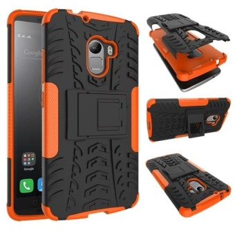 Compatible for Lenovo K4 Note Dual Layer 2 in 1 Rugged RubberHybrid Protective Armor Phone Cover
