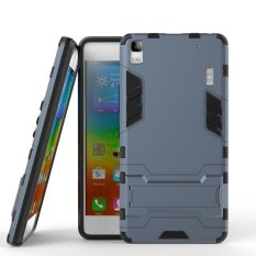 Cool Guard plastik TPU Kickstand Combo Cover untuk Lenovo A7000 / A7000 Plus / K3 Note