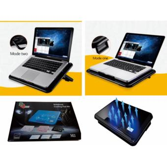 Coolingpad Cooling Pad Cooler Fan Tatakan Laptop Kipas Laptop Max17\\\