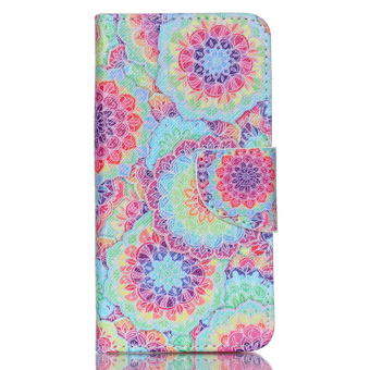 Cross Pattern Phone Leather Wallet Cover for Acer Liquid Z330 Z320 M320 -