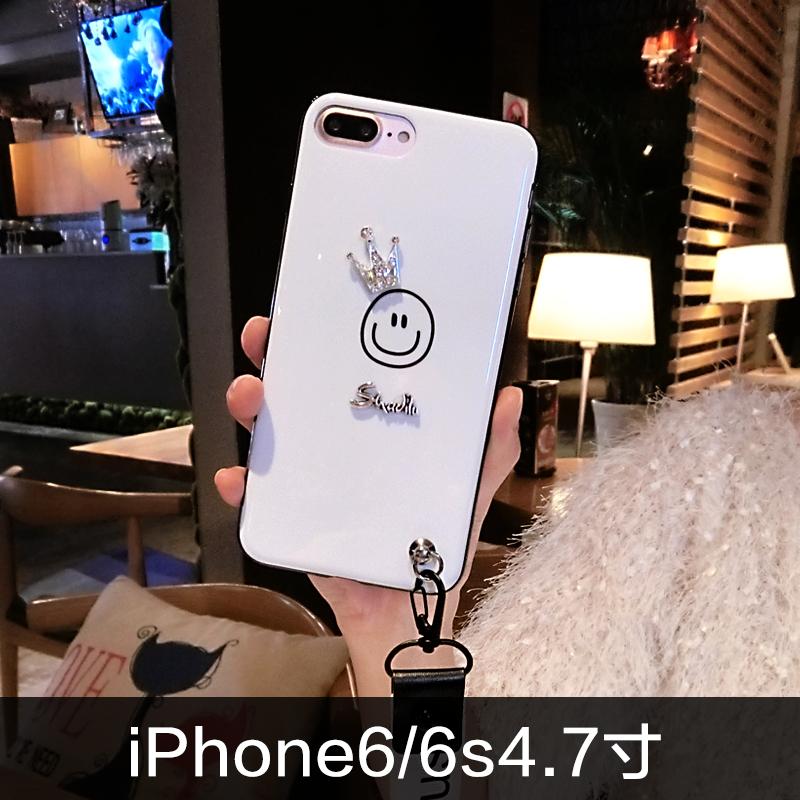 ... Crown Iphone7plus Tersenyum Apple ID Handphone Shell