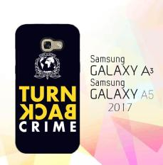 Custom Hardcase Full Print Samsung Galaxy A7 2017 Turn Back Crime E0604 Case Cover