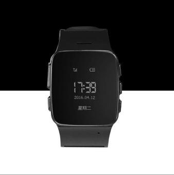 D99 Elderly Kids GPS Tracker Android Smart Watch Google Map SOSWristwatch Personal GSM GPS LBS Wifi Safety Anti-Lost Locator Watch- intl