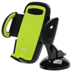 Deluxe Windshield Phone Holder for Apple (Green) - intl