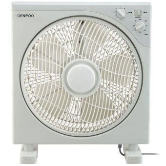 Denpoo Kipas Angin Meja Model Box Fan DBF-1122 - Putih