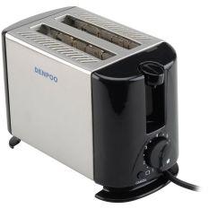 Denpoo Pemanggang Roti Elektrik DT-022D - Silver/Hitam