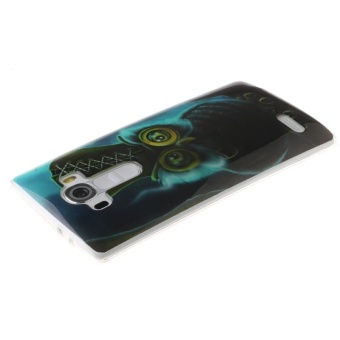 Design Owl TPU Soft Gasbag Back Case Cover For LG G4 - intl .