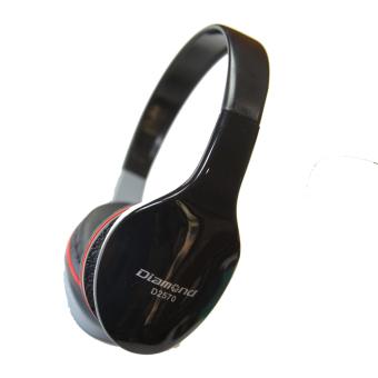Gambar Diamond megabass headphone earphone Black