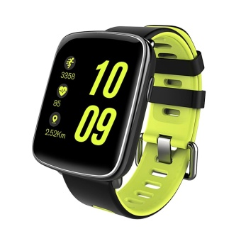 Diggro GV68 Smart Bluetooth Watch IP68 MTK2502D Heart Rate Monitor Pedometer Sleep Monitor Sedentary Reminder Remote Music&Camera Anti-Lost For Android & IOS Three Colors - intl