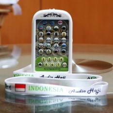 Digital Audio Portable Manasik Haji & Umroh + Buku Panduan Doa Lengkap (Perlengkapan Haji Umrah)