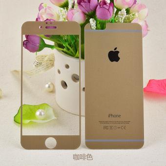 Ditambah iphone6 merah muda apel sebelum dan setelah ledakan-bukti pelindung layar warna kaca pelindung