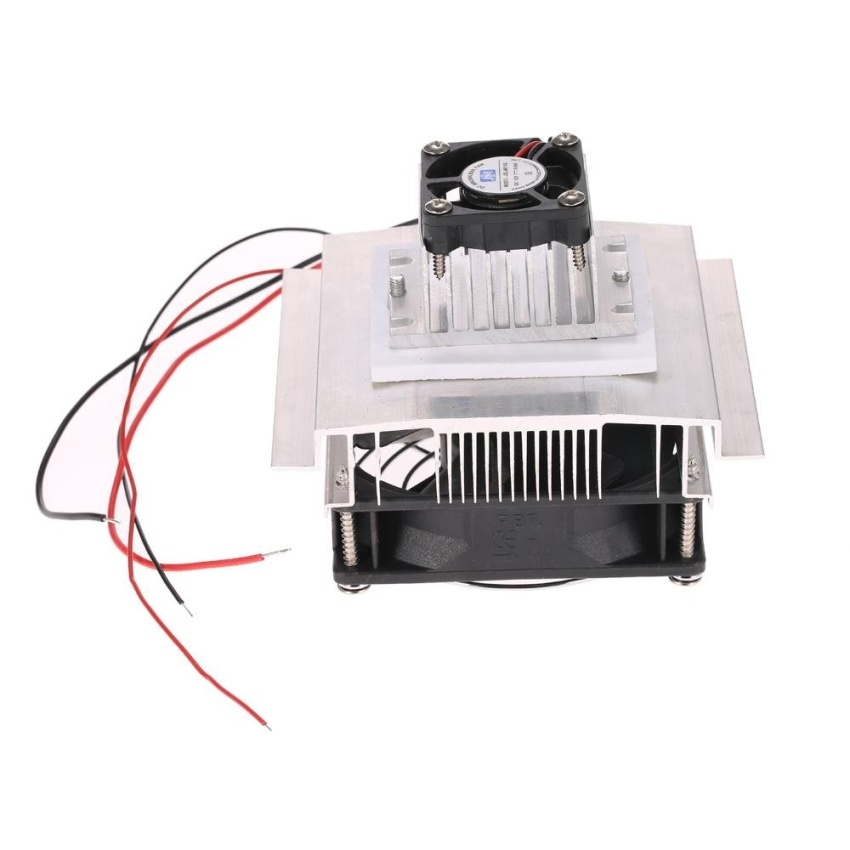 ... DIY Thermoelectric Peltier Refrigeration Cooling System KitSemiconductor Cooler Conduction Module + Radiator + Cooling Fan + ...