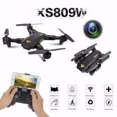DRONE KAMERA WIFI FPV LIPAT VISUO XS809W XS809HW ALTITUDE HOLD