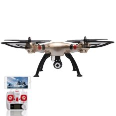 drone syma x8hw camera 2 mega pixel fpv hd real time rc drone 4ghz 6axis