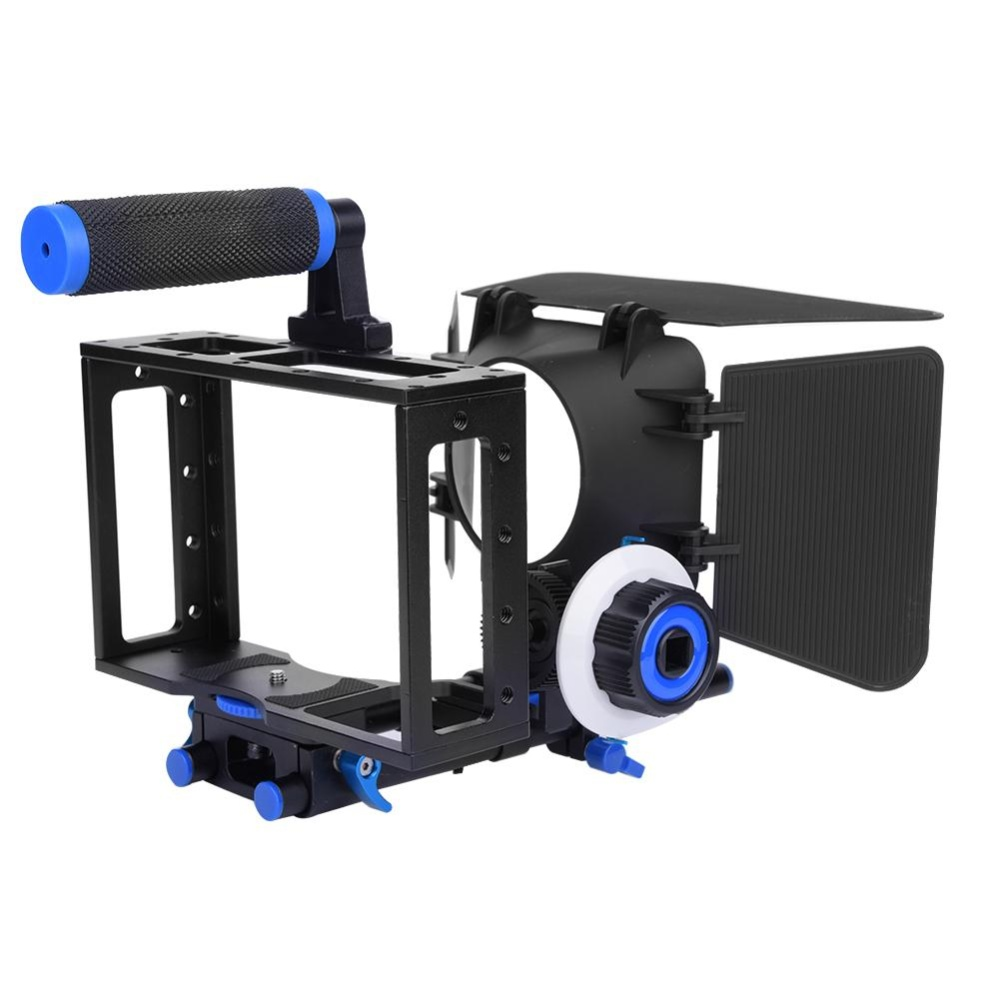 ... DSLR Cage with Handle Follow Focus Finder Matte Box Rig for DVCamera Camcorder - intl ...