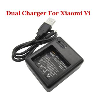 Dual Battery Charger For Xiaomi Yi Action Camera