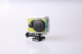 Detail Gambar Dual Lens Cover Penutup Lensa Kamera dan Waterproof Case UntukXiaoyi Xiaomi Yi Terbaru
