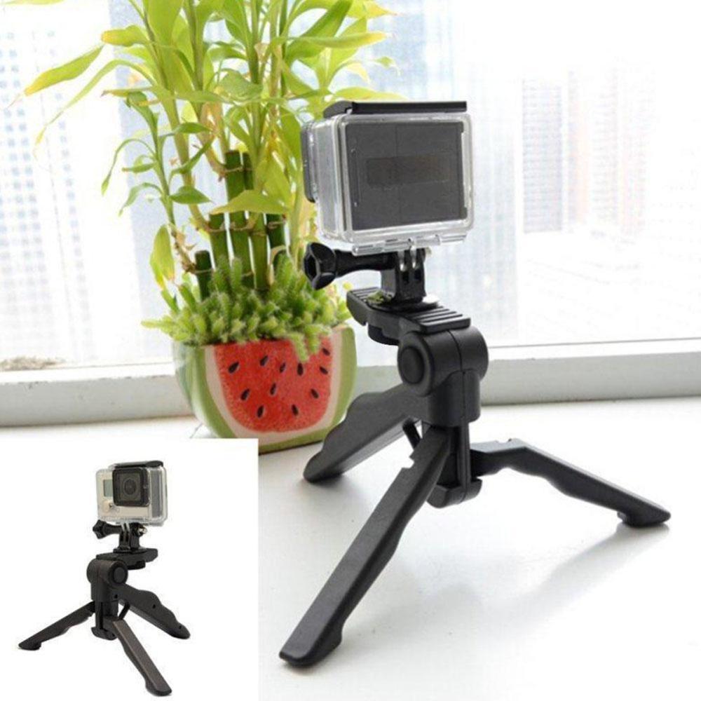 ... Eachgo Portable 2in1 Table Mini Folding Tripod Stand + Hand Gripfor DC DSLR SLR Camera ...