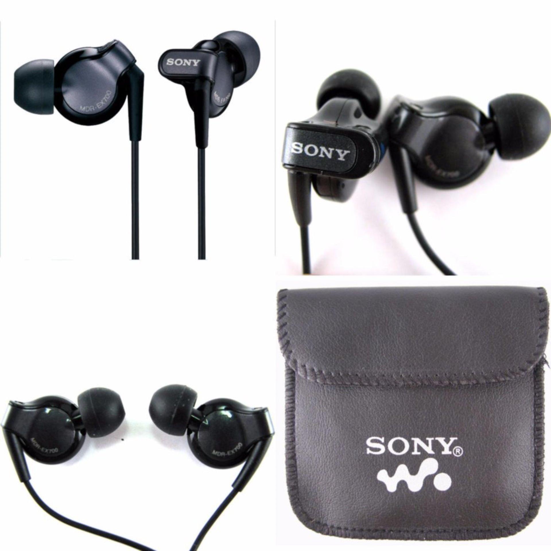 Harga Penawaran Earphones Headset Handsfree Sony Walkman Mdr Ex700 Hansfree Super Bass Original