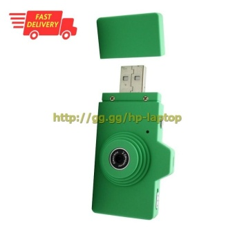 Eazzzy Mini USB Digital Camera 2MP - Green