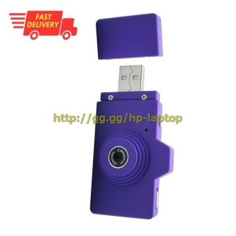 Eazzzy Mini USB Digital Camera 2MP - Purple