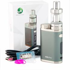 Eleaf  iStick Pico 75W - Garansi 1 tahun - Vape Starter Kit + Atomizer Melo III Mini Vapor - Grey