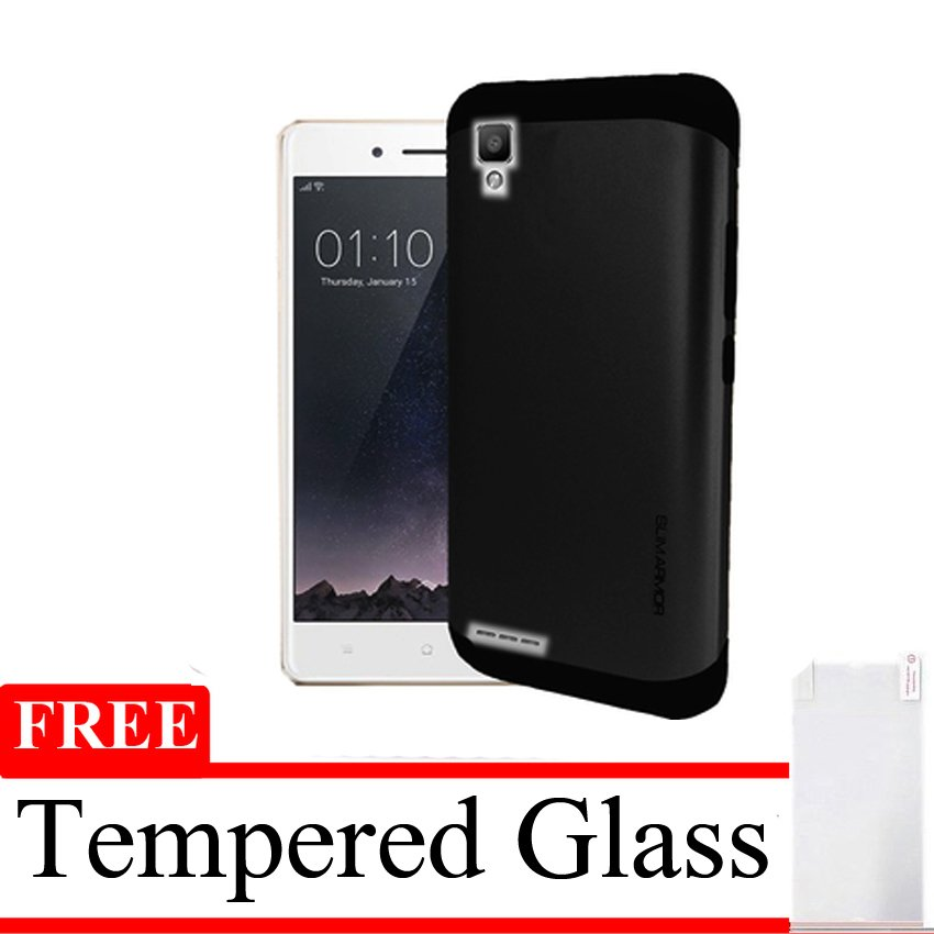 Oppo F1 Selfie Expert Aircase Soft - Merah Clear + Gratis Tempered Glass . Source ·
