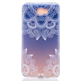 Embossing TPU Cover Case for Huawei Y5II / Y5 II / Honor 5 - Unique Flowers - intl