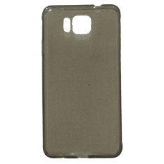 Emco for Samsung Galaxy Alpha Super Universal Life Luxury Compact Bumper Shield Tinted Case - Abu-abu