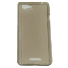Emco Sony Xperia E3 Pudding Soft Mercury Jelly Thin Protector Stealth Ozaki Case - Abu-abu