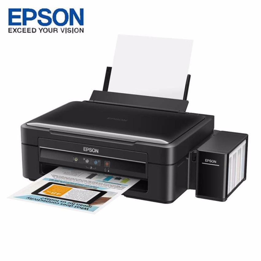 Epson Printer L360 - Hitam (Print, Scan, Copy)