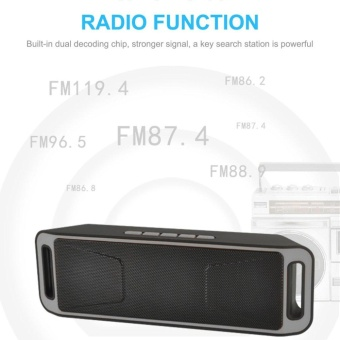 ... Stereo Source · ERA Y30 Wireless Bluetooth 3 0 Portable Speaker USB Flash FM RadioStereo Super Bass