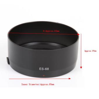 harga ES-68 sangkur Gunung penutup lensa untuk Canon EF 50 mm f/1.8 STM lensa sebagai L-HOODES68 Lazada.co.id