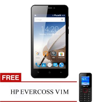 Evercoss A65B Winner X3 - RAM 1GB + FREE HP EVERCOSS V1M