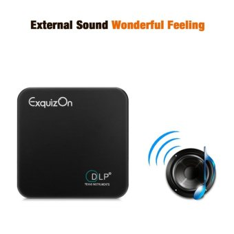 Exquizon E05 Pocket Airplay Miracast Projector For Ios &Android Dlp 1g+8g(Silver) - intl - 2