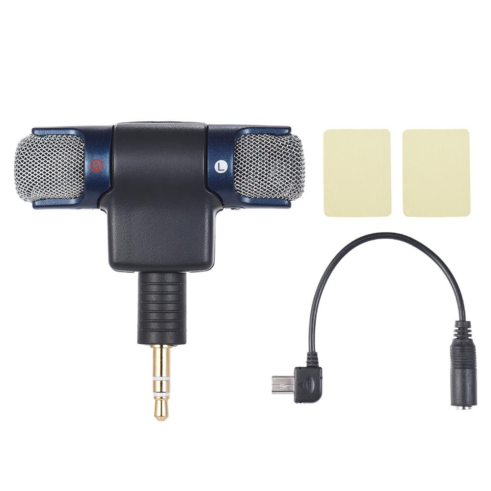 Pencarian Termurah External Stereo Mic Microphone With 35mm To Mini Kabel Adapter Cable For Gopro Hero 3 Usb Micro