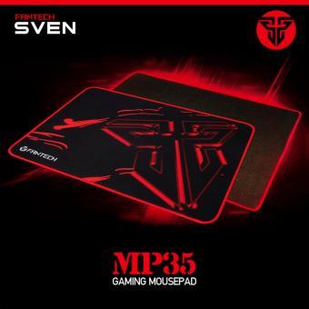 Fantech MP35 SVEN Mousepad Gaming 35x25cm Speed Control Mouse Pad -Hitam