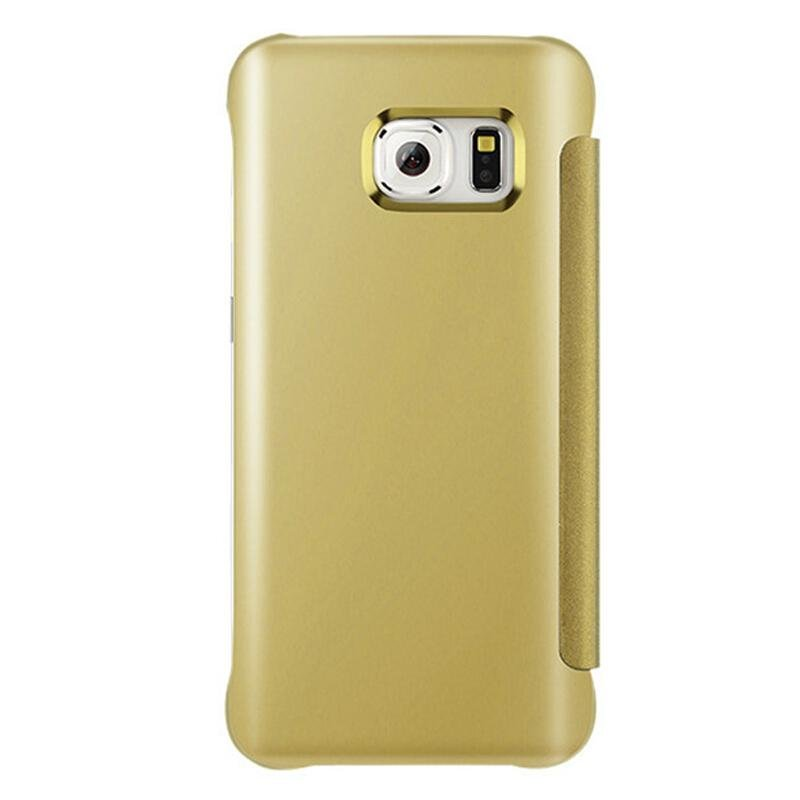Fashion Clear View Mirror Screen Flip Case Cover For Samsung GalaxyC7 Pro / c7pro / C7010