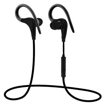 Popular Hot Sales XT-1 Wireless Bluetooth 4.1 Headset Sports Stereo Earphone With Mic - Black - intl