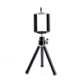 harga FDT Smartphone Tripod Mini + Holder U - Hitam Lazada.co.id