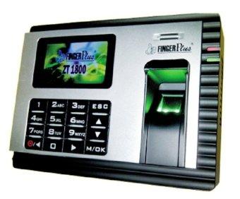 FingerPlus ZT 1800 - Mesin Absensi Fingerprint - Silver-Hitam