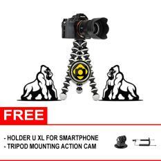 Flexible Large / XL Tripod Kaki Fleksibel GorillaPod - HitamIDR51900. Rp 54.900