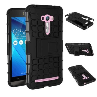 For Asus Zenfone Selfie Case ZD551KL Heavy Duty Armor Shockproof Hybrid Hard Soft Silicone Rugged Rubber Phone Case Cover Shell - intl