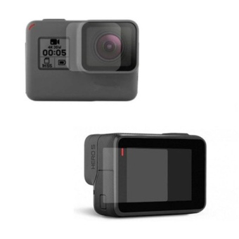 for Camera Go Pro Hero 5 LCD Screens Display Lens Protective ForGoPro Hero 5 - intl